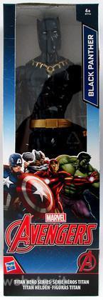 Figure Marvel Avengers Black P. 30cm