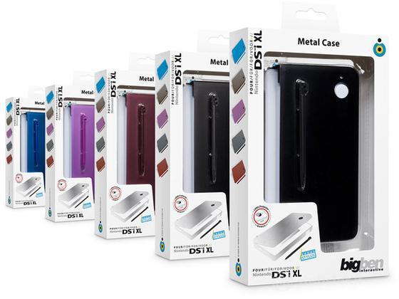 BB Case in metallo con Pennino DSi XL