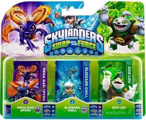 Skylanders Triple Pack B (SF)
