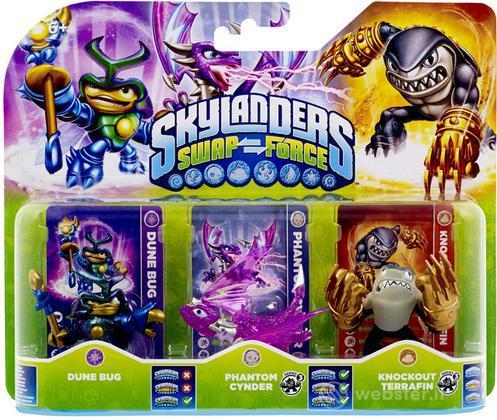 Skylanders Triple Pack F (SF)