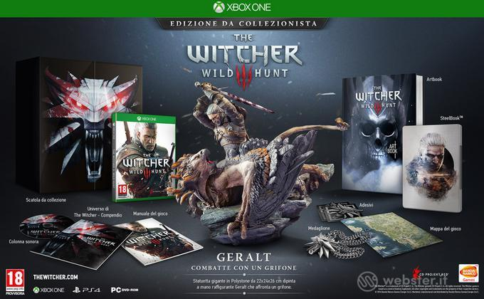 The Witcher 3 The Wild Hunt Coll. Ed.
