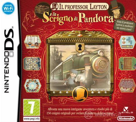 Il Professor Layton & Lo Scrigno Pandora