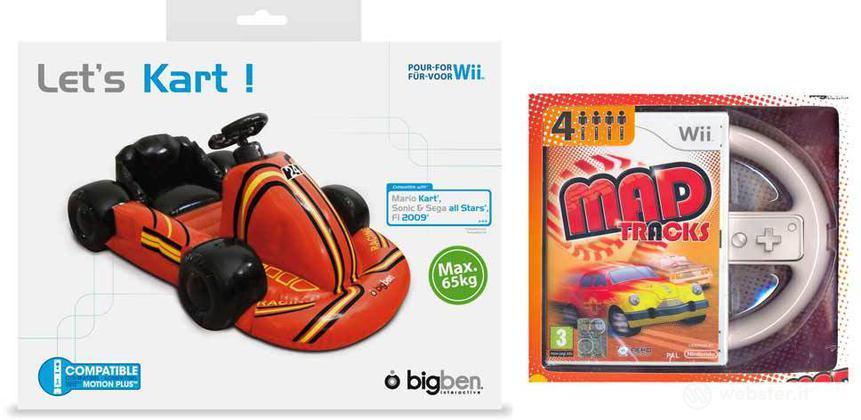 WII GO Kart! + Mad Tracks