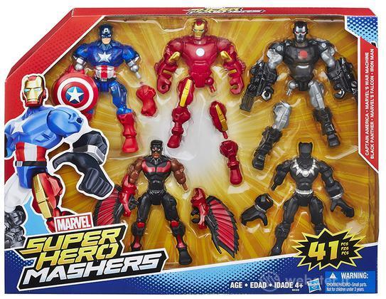 Figure Hero Mashers Multi Pack