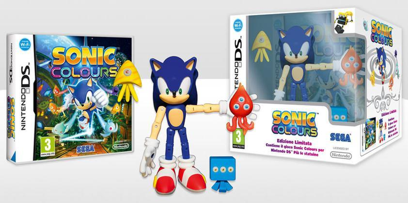 Sonic Colours + Action Figure