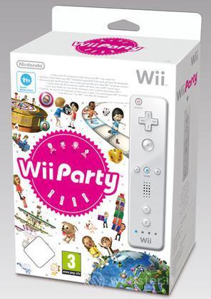 WII Party + Telecomando bianco