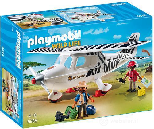 PLAYMOBIL Aereo Avvistamento Fly-Safari
