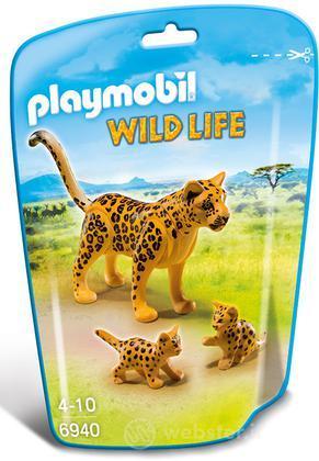 PLAYMOBIL Leopardo Con Cucciolo