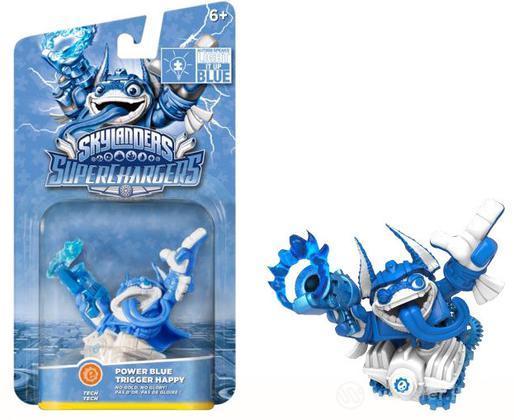 Skylanders SuperCharger Blue T.Happy(SC)