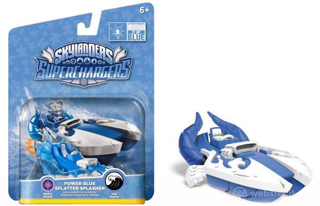 Skylanders Vehicle Blue S.P.Splasher(SC)