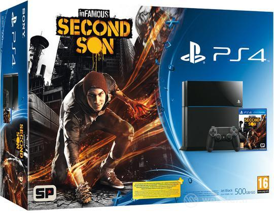 Playstation 4 + Infamous: Second Son