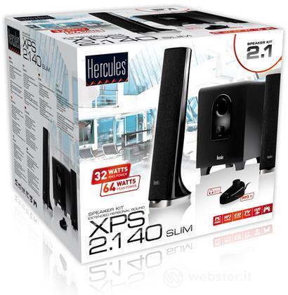 Speakers XPS 2.1 40 Black - Hercules