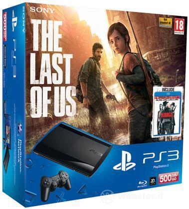 Playstation 3 500GB+Last of Us+Django