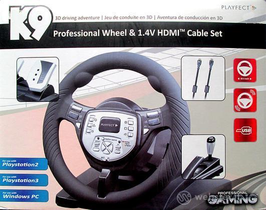 Volante K9 + Cavo HDMI 1.4V