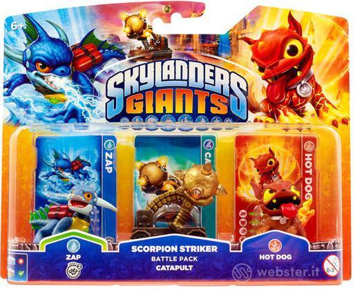Skylanders Giants Battle Pack Catapult