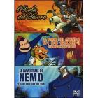 L' isola del tesoro - Il giro del mondo in 80 giorni - Le avventure di Nemo (Cofanetto 3 dvd)