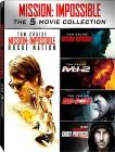 Mission: Impossible. Movie Collection (Cofanetto 5 dvd)