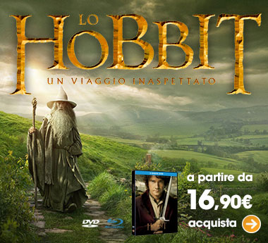 Lo Hobbit in dvd e blu-ray!