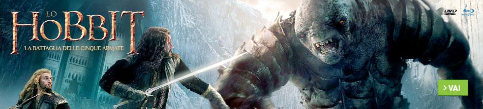 Prenota ora Lo Hobbit la battaglia delle Cinque Armate in dvd e blu-ray