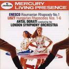 George enescu: roumanian rhapsody no. 1 / franz liszt: hungarian rhapsodies (london symphony orchestra feat. conductor: antal dorati)