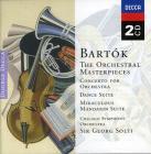 The orchestral masterpieces. concerto per orchestra - dance suite - il mandarino miracoloso
