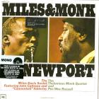 Miles & monk at newport (mono 180gr.) (Vinile)