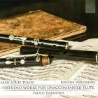 Virtuoso works for unaccompanied flute