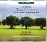 Trio twv 42:d10, a1, f8  sonata twv 42:f