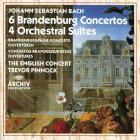 6 brandenburg concertos / 4 orchestral suites