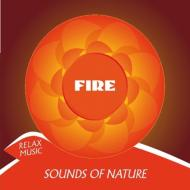 Relax music. Sounds of nature fuoco