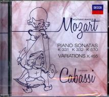 Piano sonatas and variations