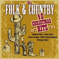 Folk & country-40 christmas hits
