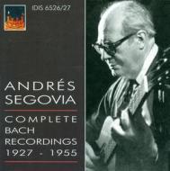 Andrés segovia. complete bach recordings