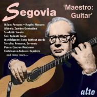 Segovia 'maestro' guitar