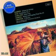 Adagio for strings-symphony no.3. orchestral works