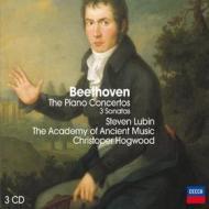 The pianos concertos-3 sonatas (concerti per pianoforte completi)