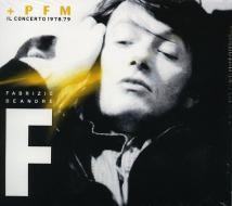 Fabrizio de andre e pfm - il concerto 1978.79 (Vinile)