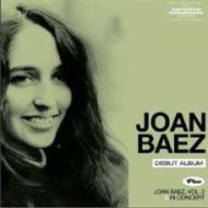 Joan baez (debut album) + vol. 2 + in concert