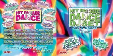 Hit parade dance + hit parade dance dj set (4 cd+rivista)