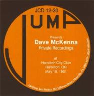 Private recordings at hamilton city club