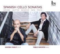 Spanish cello sonatas