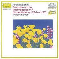 Fantasien op.116-intermezzi op.117 (fantasie op.116 - intermezzi op.117 - pezzi per pianoforte op.118, op.119)