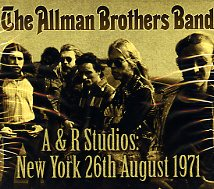 A & r studios:new york 26th august 1971