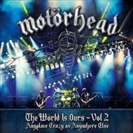 The world is ours vol.2 anyplace is crazy as...(dvd+2cd)