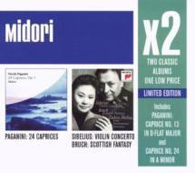 Sibelius:conc violino/paganini: capricci
