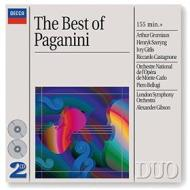Best of paganini conc. x vl 1-4 cap