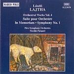 Opere orchestrali vol.4: suite x or