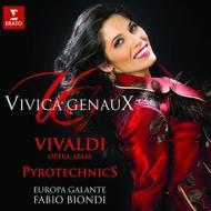 Pyrotechnics:vivaldi arias