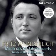 Fritz wunderlich interpreta musica del xx secolo