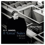8 great  suites - suites per clavicembalo hwv 426-433